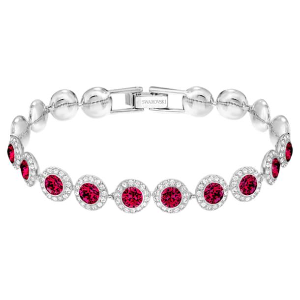 Bracelet Angelic, rouge, Métal rhodié - Swarovski, 5446006