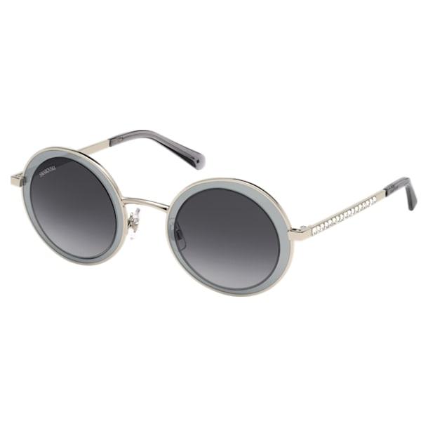 Moselle Mask Sunglasses, SK0199-16B, Gray - Swarovski, 5447882