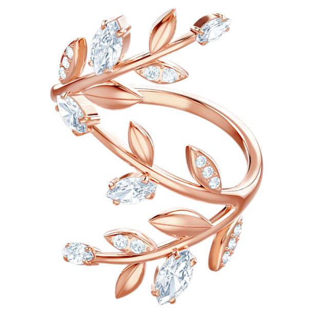Mayfly Ring, weiss, Rosé vergoldet - Swarovski, 5448883