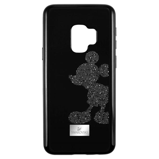 Mickey Body Smartphone Case with integrated Bumper, Galaxy S®9, Black - Swarovski, 5449138