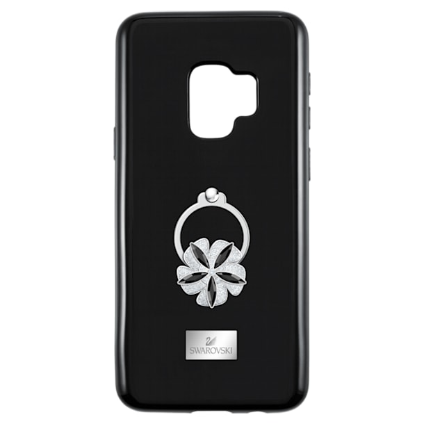 Mazy ring Smartphone Case with integrated Bumper, Galaxy S®9, Black - Swarovski, 5449145