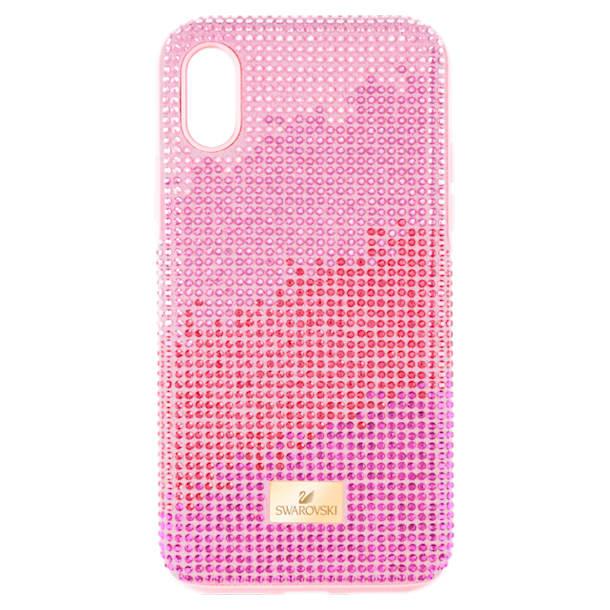 Funda para smartphone con protección rígida High Love, iPhone® X/XS, rosa - Swarovski, 5449510