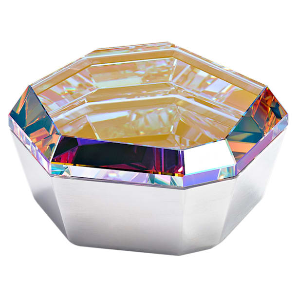 Caja Rock, pequeña, tono plateado - Swarovski, 5451176