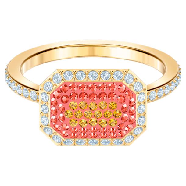 No Regrets Ring, Multi-coloured, Gold-tone plated - Swarovski, 5457503