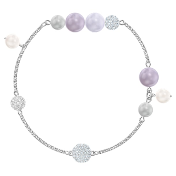 Swarovski Remix Collection Pearl Strand, 彩色设计, 镀铑 - Swarovski, 5463191
