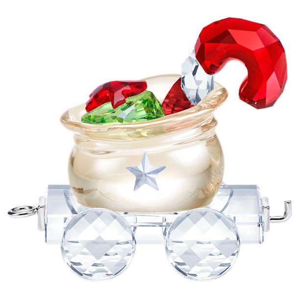 Вагончик Санта-Клауса с мешком подарков - Swarovski, 5464864