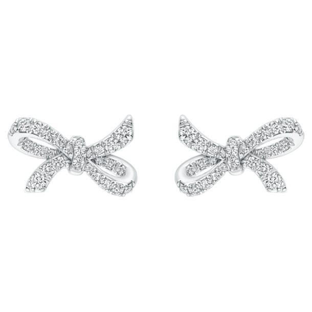 18K WG Dia Gorgeous Earrings - Swarovski, 5468490