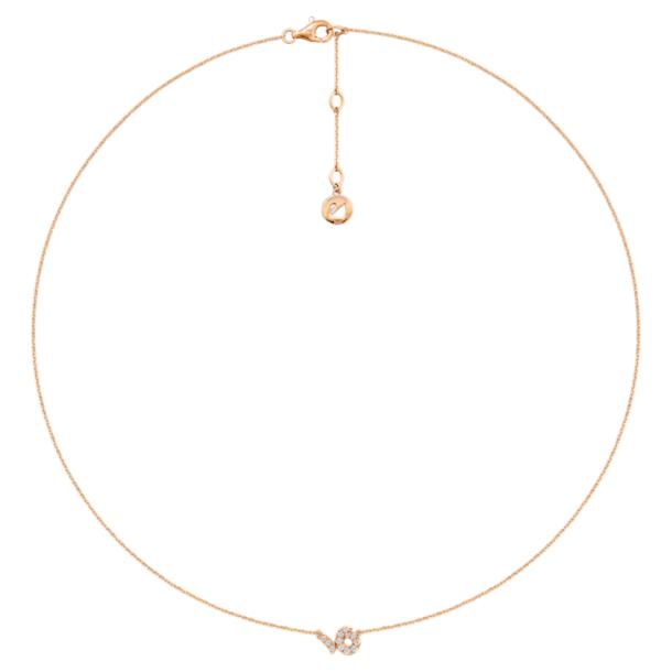Zodiac 项链, 摩羯座 - Swarovski, 5468503