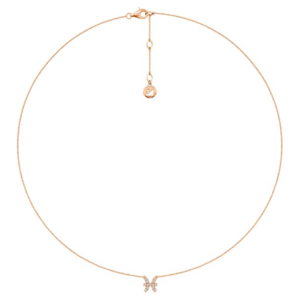 Zodiac 项链, 双鱼座 - Swarovski, 5468505