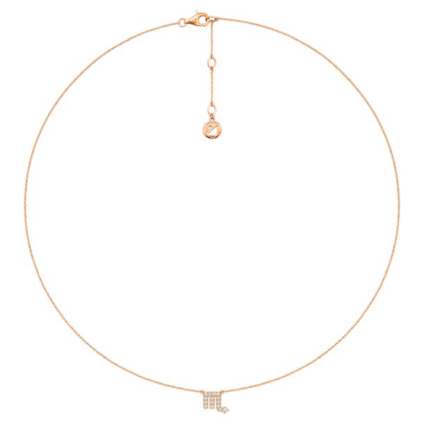 Zodiac 项链, 天蝎座 - Swarovski, 5468514