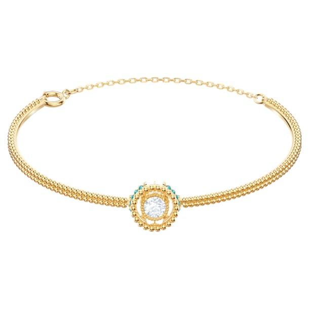 Oxygen Bangle, Multi-colored, Gold-tone plated - Swarovski, 5468722