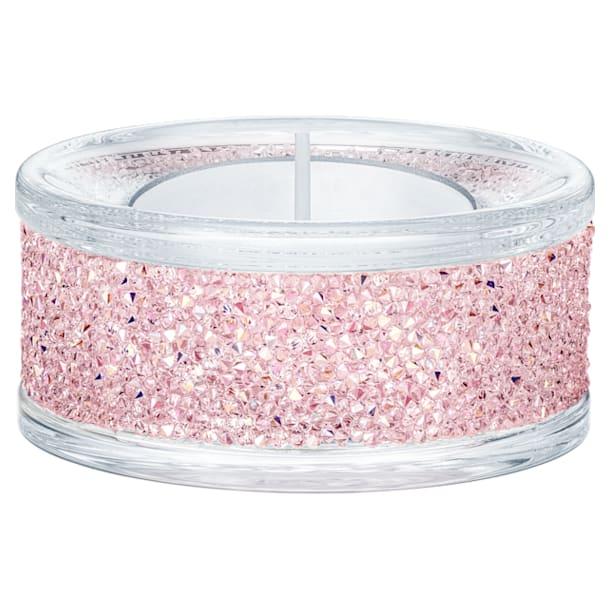 Svícen na čajovou svíčku Shimmer, růžový - Swarovski, 5474276
