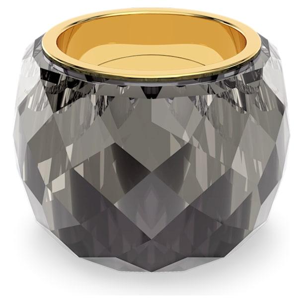 Nirvana Кольцо, Серый кристалл, PVD-покрытие оттенка золота - Swarovski, 5474358