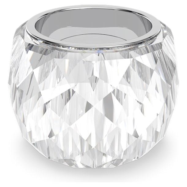 Δαχτυλίδι Swarovski Nirvana, ασημί απόχρωση, ανοξείδωτο ατσάλι - Swarovski, 5474363