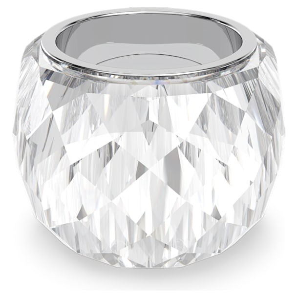 Nirvana ring, Silver tone, Stainless steel - Swarovski, 5474364