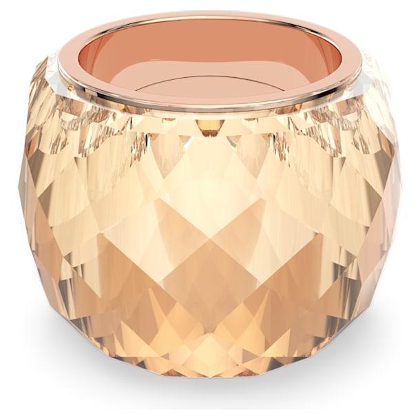 Prsten Nirvana, Zlatý odstín, PVD v růžovozlatém odstínu - Swarovski, 5474378