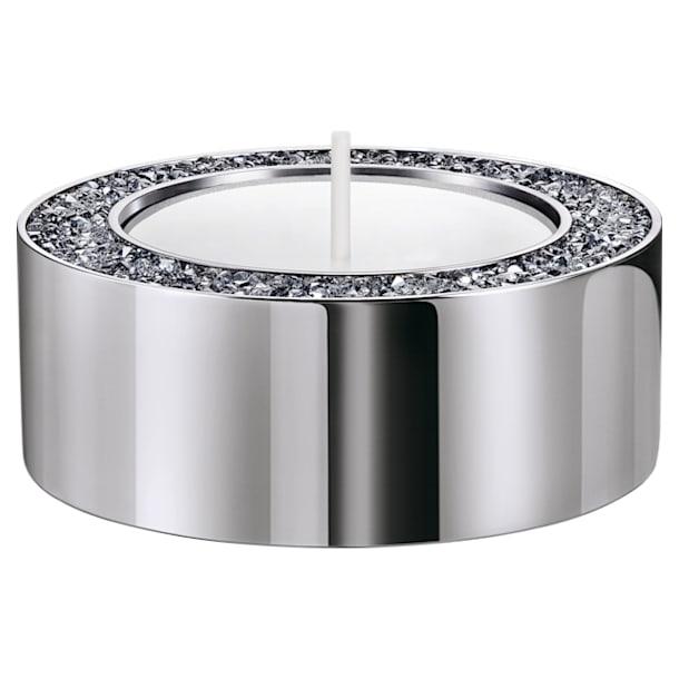 Minera 燭台, 細碼, 銀色 - Swarovski, 5474386