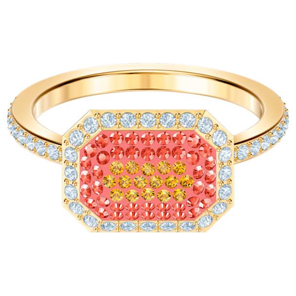 No Regrets Ring, Multi-coloured, Gold-tone plated - Swarovski, 5474415