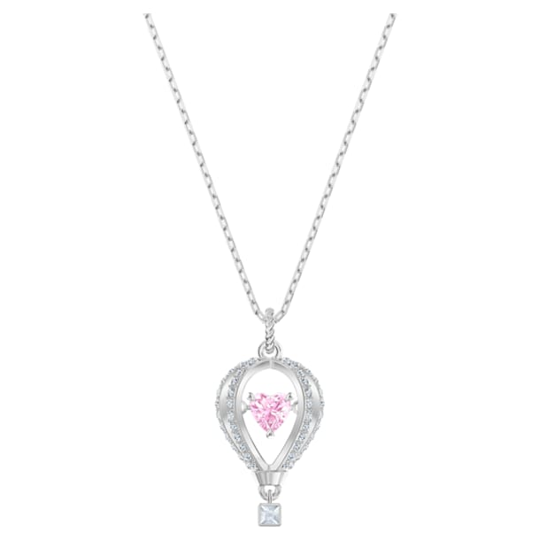 Into the Sky Pendant, Multi-colored, Rhodium plated - Swarovski, 5474811