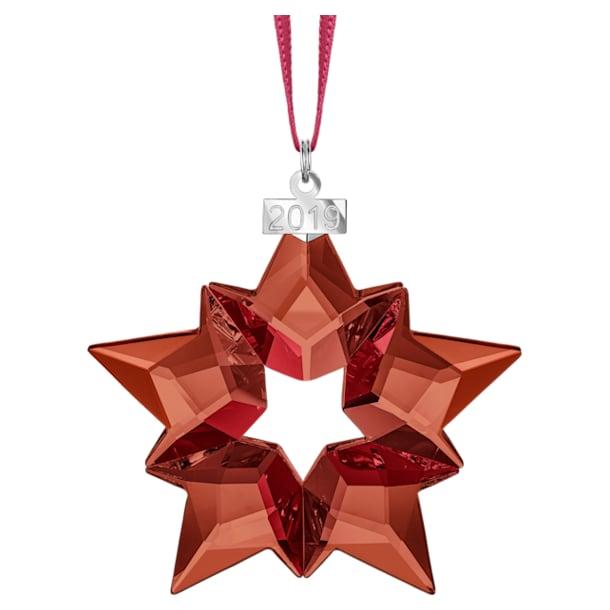 Holiday Ornament, A.E. 2019, Stern, Rot - Swarovski, 5476021