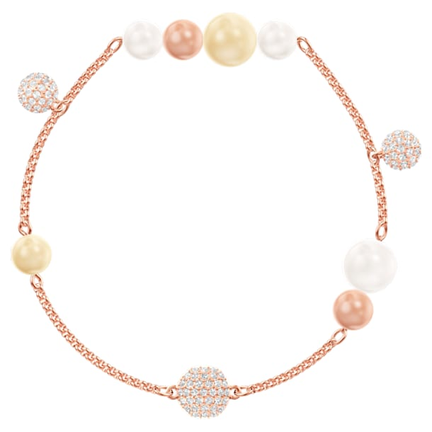 Swarovski Remix Collection Pearl Strand, multicolore, Placcato oro rosa - Swarovski, 5479007
