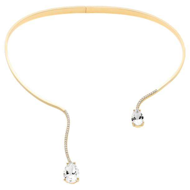 Arc-en-ciel Collar, Swarovski Genuine Topaz & Swarovski Created Diamonds, 18K Yellow Gold - Swarovski, 5481734