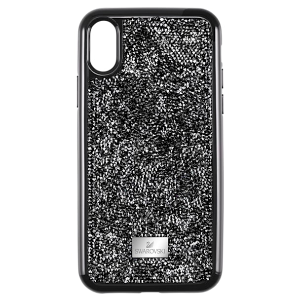 Glam Rock okostelefon tok, iPhone® XR, Fekete - Swarovski, 5482282