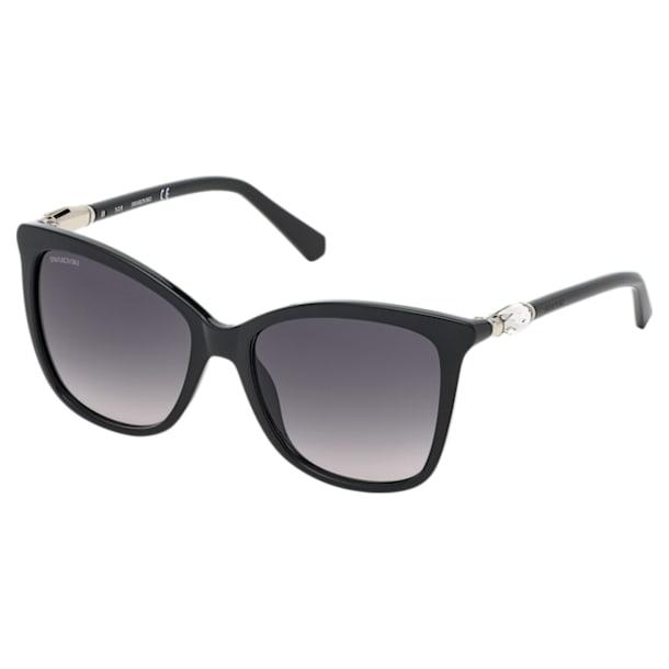 Okulary przeciwsłoneczne Swarovski, SK0227-01B, czarne - Swarovski, 5483810