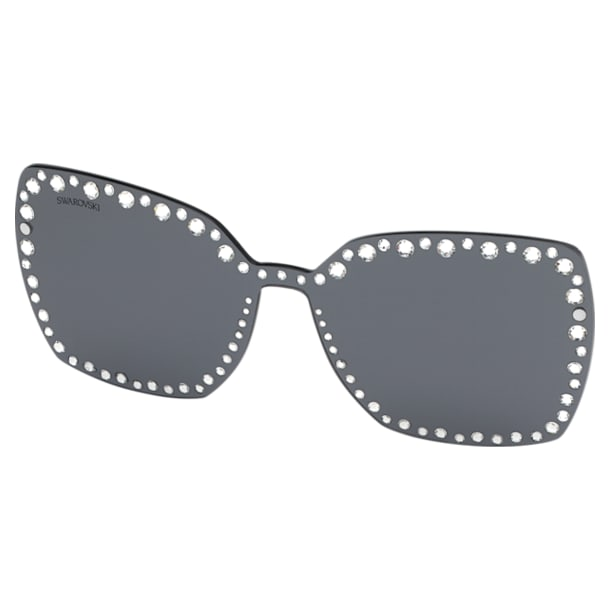 Swarovski rápattintható maszk napszemüveghez, SK5330-CL 16A, szürke - Swarovski, 5483813