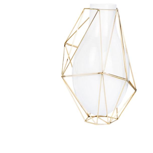 Vase Framework, blanc - Swarovski, 5488386