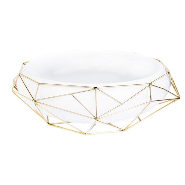 Vaso/Portaoggetti Framework, bianco - Swarovski, 5488387