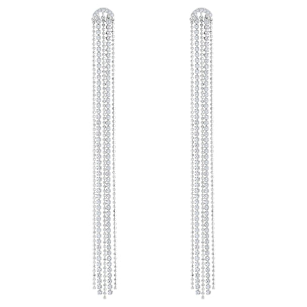 Fit , White, Rhodium plated - Swarovski, 5490190