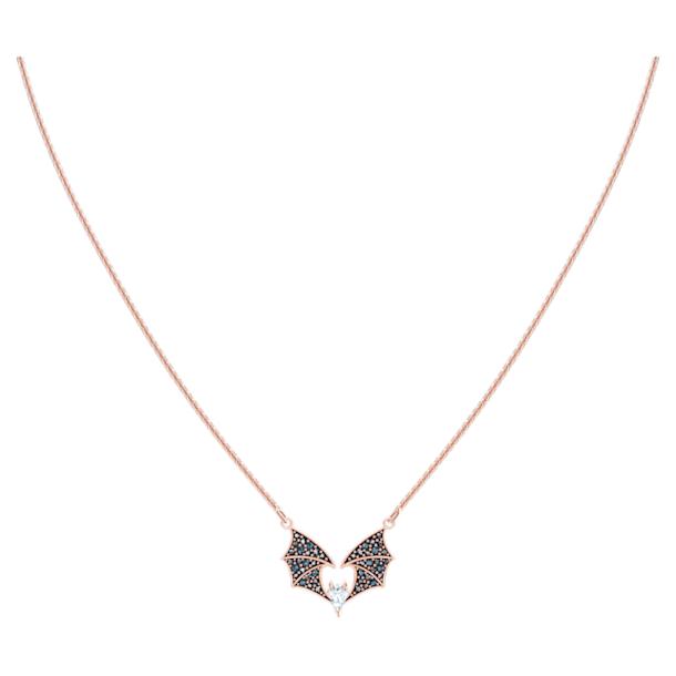 Prosperity Necklace, Multi-colored, Rose-gold tone plated - Swarovski, 5491564
