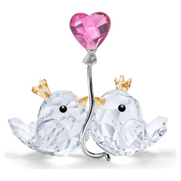 Love Birds, Pink Heart - Swarovski, 5492226