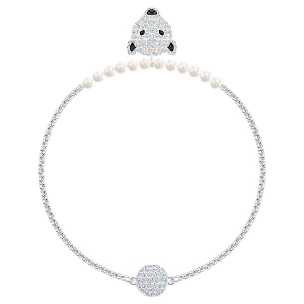 Bracelet Polar Bestiary, blanc, Métal rhodié - Swarovski, 5493706
