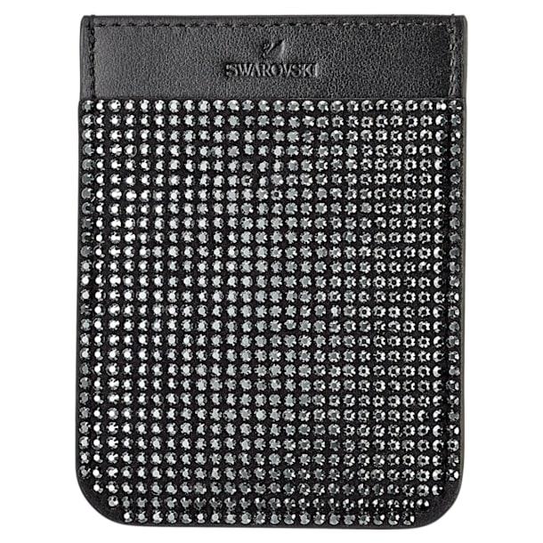 Swarovski Smartphone sticker pocket, Black - Swarovski, 5498747