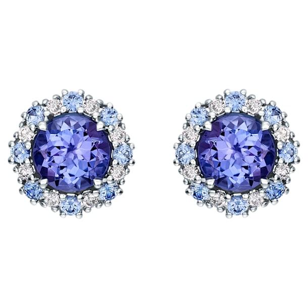18K WG Firework Earrings (TZN) - Swarovski, 5499779