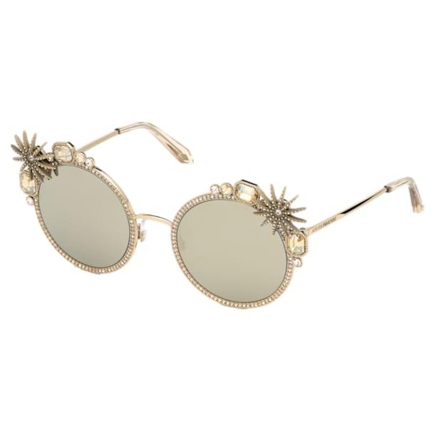 Calypso Sunglasses, SK240-P 32C, Gold tone - Swarovski, 5500201