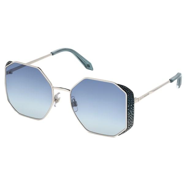 Moselle Sunglasses, SK238-P 16W, Blue - Swarovski, 5500202