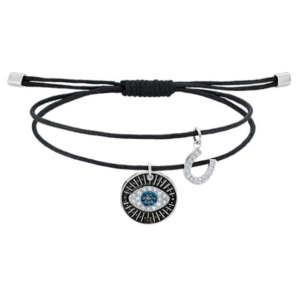 Unisex Evil Eye Bracelet, Multi-colored, Stainless steel - Swarovski, 5504679