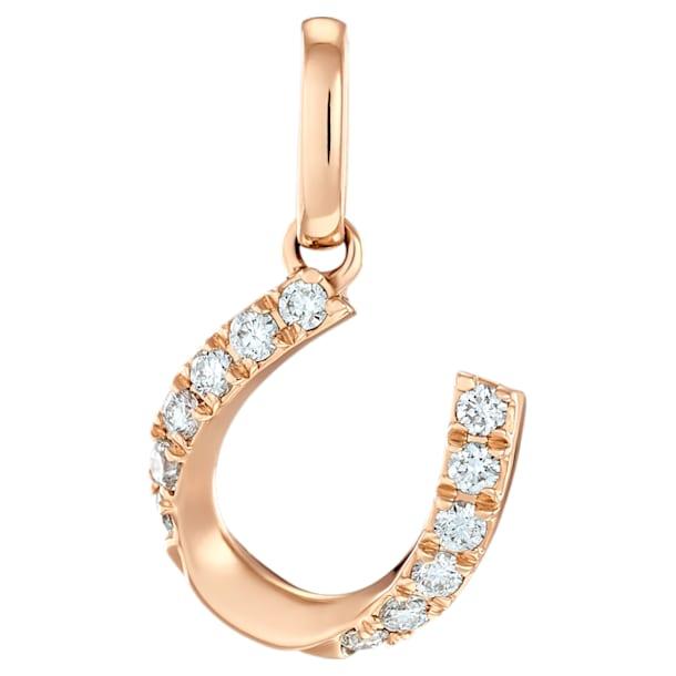 幸运之径玫瑰金钻石链坠 - Swarovski, 5506530