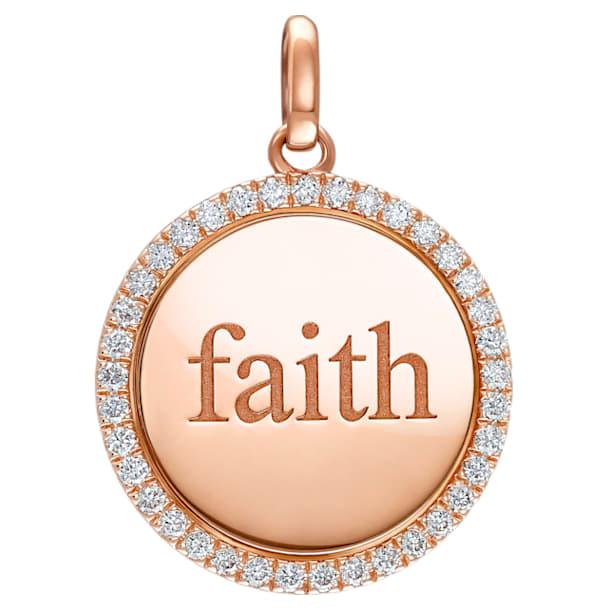 Medallion Faith Pendant - Swarovski, 5506533