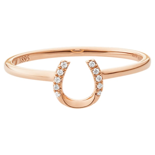 Just Myself Horseshoe Ring - Swarovski, 5506542
