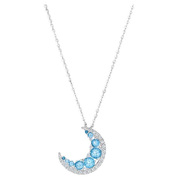 18K WG Waxing Crescent Necklace (L) - Swarovski, 5506560