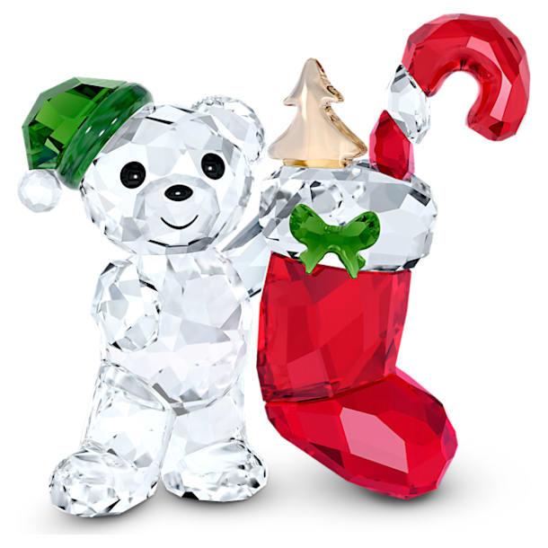 Medvídek Kris – vánoční, výroční edice 2020 - Swarovski, 5506812