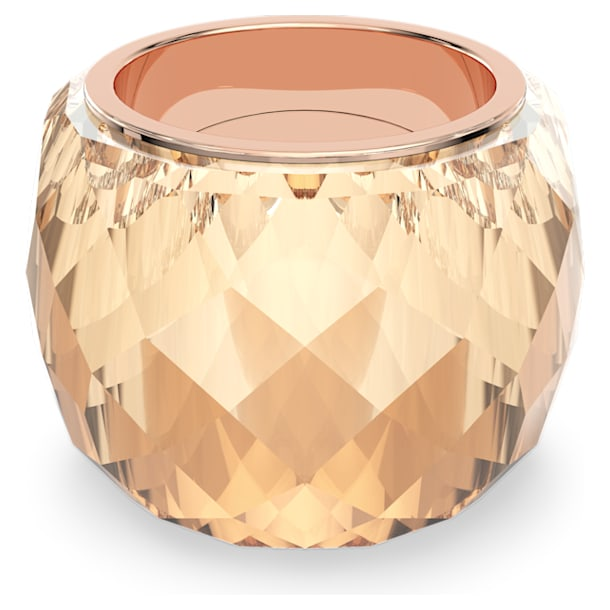 Nirvana ring, Gold tone, Rose-gold tone PVD - Swarovski, 5508720