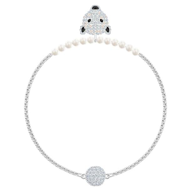Polar Bestiary Armband, Weiss, Rhodiniert - Swarovski, 5511100