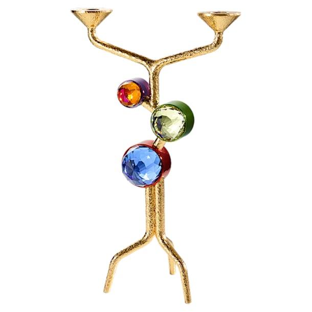 Arbol Two-candle Candelabra, Multicolored - Swarovski, 5511522
