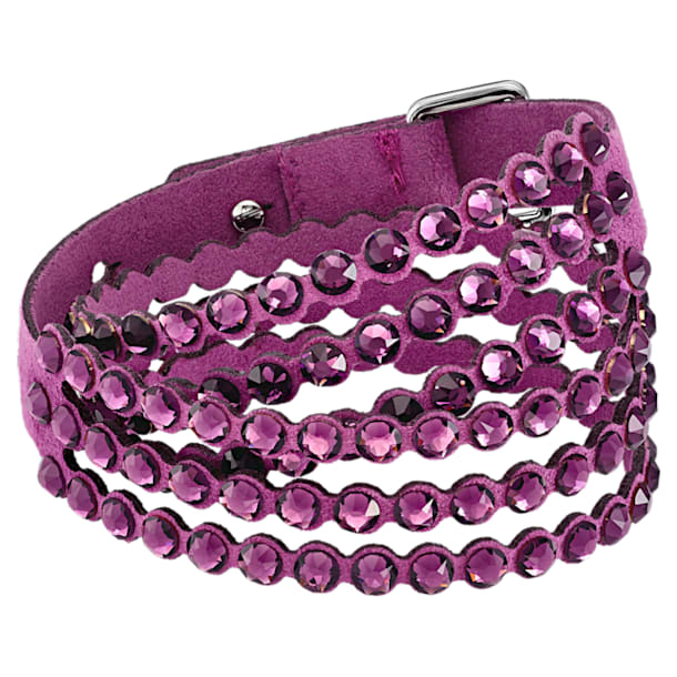 Swarovski Power Collection bracelet, Medium, Purple - Swarovski, 5511699