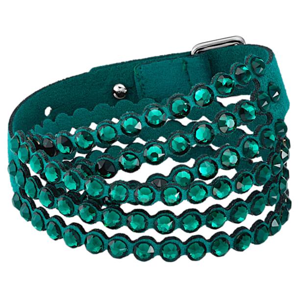 Swarovski Power Collection bracelet, Medium, Green - Swarovski, 5511700